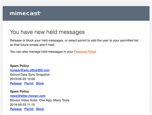 Mimecast Email